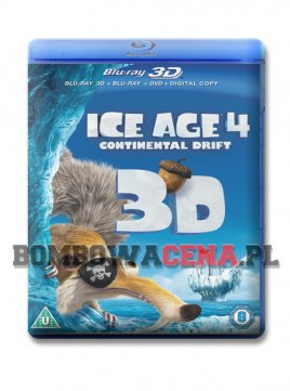 Ice Age 4: Continental Drift [BLU-RAY] 3D, ANG