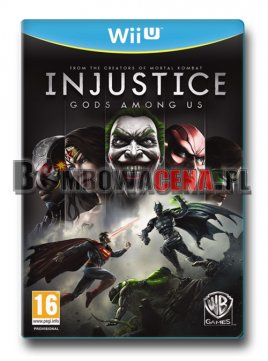 Injustice: Gods Among Us [WiiU] NOWA