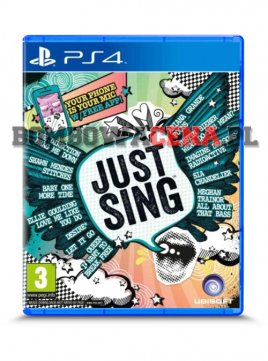 Just Sing [PS4] NOWA