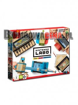 Labo Variety Kit Nintendo Switch MAKE/PLAY/DISCOVE