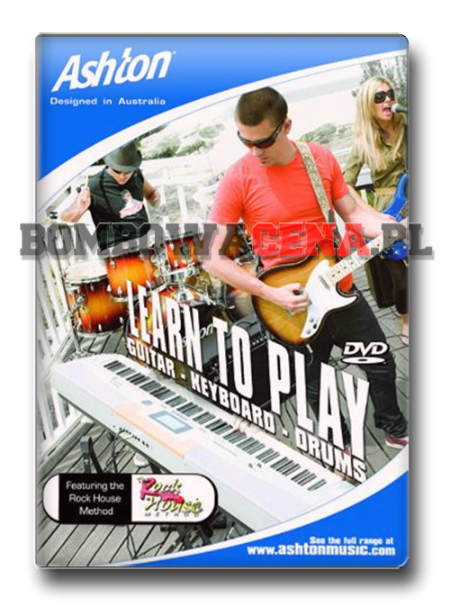 Learn To Play Guitar, Keyboard and Drums [PC] NOWA