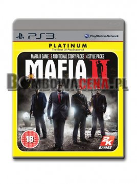 Mafia II [PS3] PL, Platinum, 3x Story Packs