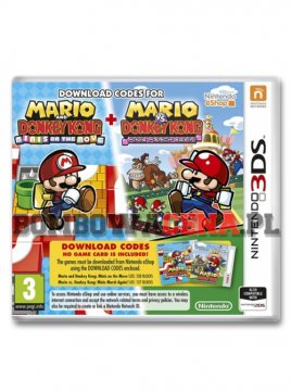 Mario and Donkey Kong: Minis on the Move + Minis March Again [3DS] NOWA