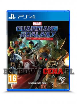 Marvel's Guardians of the Galaxy: The Telltale Series [PS4] NOWA