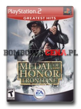 Medal of Honor: Frontline [PS2] NTSC USA, Greatest Hits