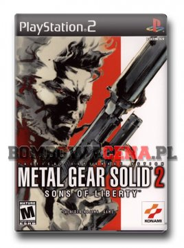 Metal Gear Solid 2: Sons of Liberty [PS2] NTSC USA