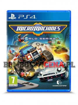 Micro Machines: World Series [PS4] NOWA