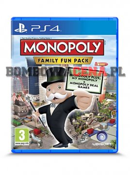 Monopoly: Family Fun Pack [PS4] NOWA