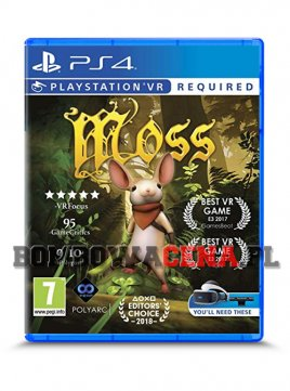 Moss [PS4] VR, NOWA