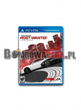 Need for Speed: Most Wanted [PS Vita] PL, NOWA