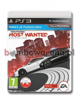 Need for Speed: Most Wanted [PS3] NOWA