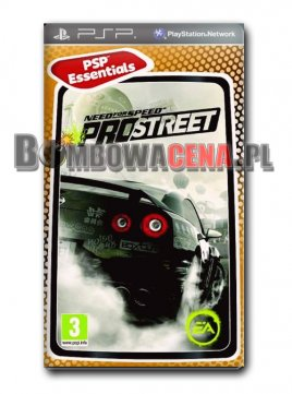 Need for Speed ProStreet [PSP] Essentials