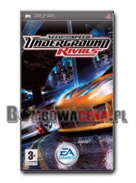 Need for Speed: Underground Rivals [PSP]