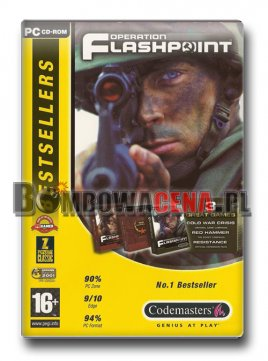 Operation Flashpoint: 3 Great Games [PC] GOTY, Bestsellers