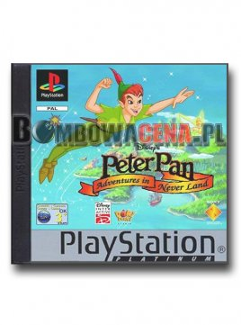 Peter Pan: Return to Neverland [PSX] Platinum, NOR