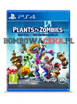 Plants vs. Zombies: Battle for Neighborville [PS4] PL, NOWA