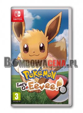 Pokemon: Let\'s Go, Eevee! [Switch] NOWA