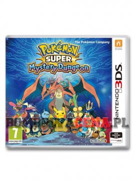 Pokemon Super Mystery Dungeon [3DS]