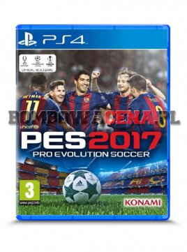 Pro Evolution Soccer 2017 [PS4]