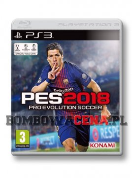 Pro Evolution Soccer 2018 [PS3] NOWA