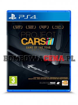 Project CARS [PS4] PL, GOTYE