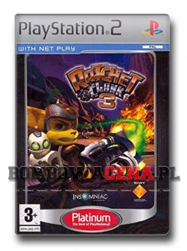Ratchet & Clank 3 [PS2] Platinum