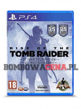 Rise of the Tomb Raider: 20. Rocznica Serii [PS4] PL