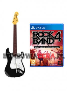 Rock Band 4 [PS4] + Gitara
