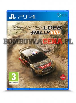 Sebastien Loeb Rally Evo [PS4] PL