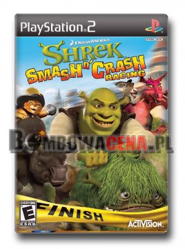 Shrek Smash n' Crash Racing [PS2] NTSC USA