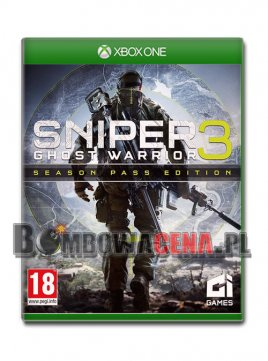 Sniper: Ghost Warrior 3 [XBOX ONE] PL, Season Pass Edition, NOWA