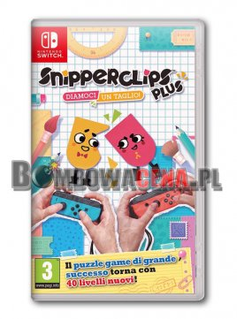 Snipperclips Plus: Cut It Out, Together [Switch] NOWA