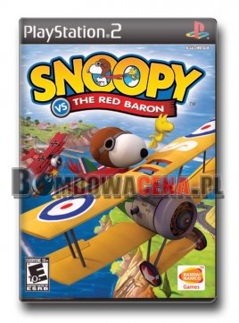 Snoopy vs The Red Baron [PS2] NTSC USA, unikat