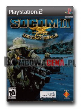SOCOM II: U.S. Navy SEALs [PS2] NTSC USA