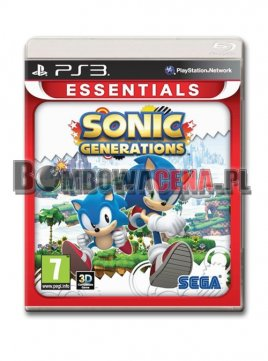 Sonic Generations [PS3] Essentials, NOWA