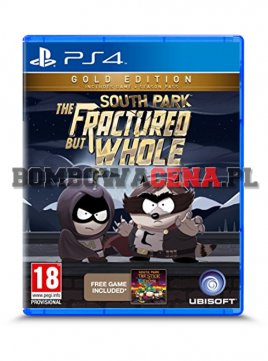 South Park: The Fractured But Whole [PS4] PL, Gold Edition