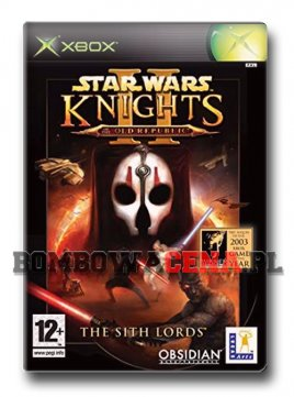 Star Wars: Knights of the Old Republic II - The Sith Lords [XBOX]