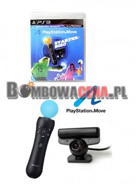 Starter-Disc + Kontroler Sony Move + Kamera [PS3] PL