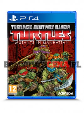 Teenage Mutant Ninja Turtles: Mutants in Manhattan [PS4]