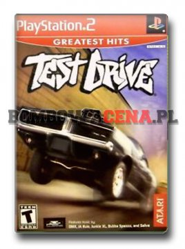Test Drive [PS2] NTSC USA, Greatest Hits