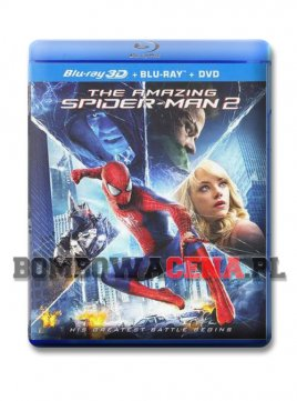 The Amazing Spider-Man 2 [BLU-RAY] 3D, ANG