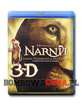 The Chronicles of Narnia: The Voyage of the Dawn Treader [BLU-RAY] 3D, PL