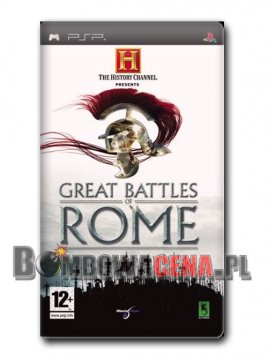 The History Channel: Great Battles of Rome [PSP]