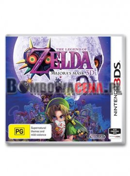 The Legend of Zelda: Majora\'s Mask 3D [3DS] NOWA
