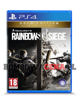 Tom Clancy's Rainbow Six: Siege [PS4] PL, Gold Edition