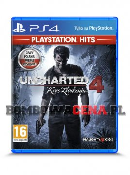 Uncharted 4: Kres Złodzieja [PS4] PL dubbing, Playstation Hits