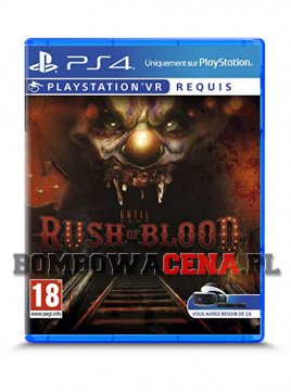Until Dawn: Rush of Blood [PS4] PL, NOWA