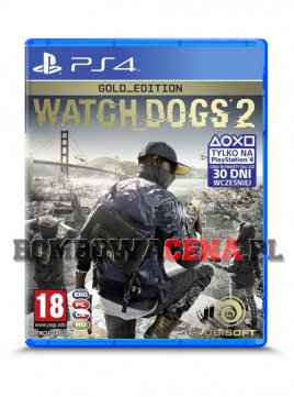 Watch Dogs 2 [PS4] PL, Gold Edition