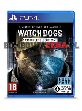 Watch Dogs: Complete Edition [PS4] PL