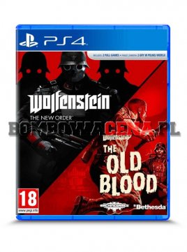 Wolfenstein: The New Order & The Old Blood [PS4] PL